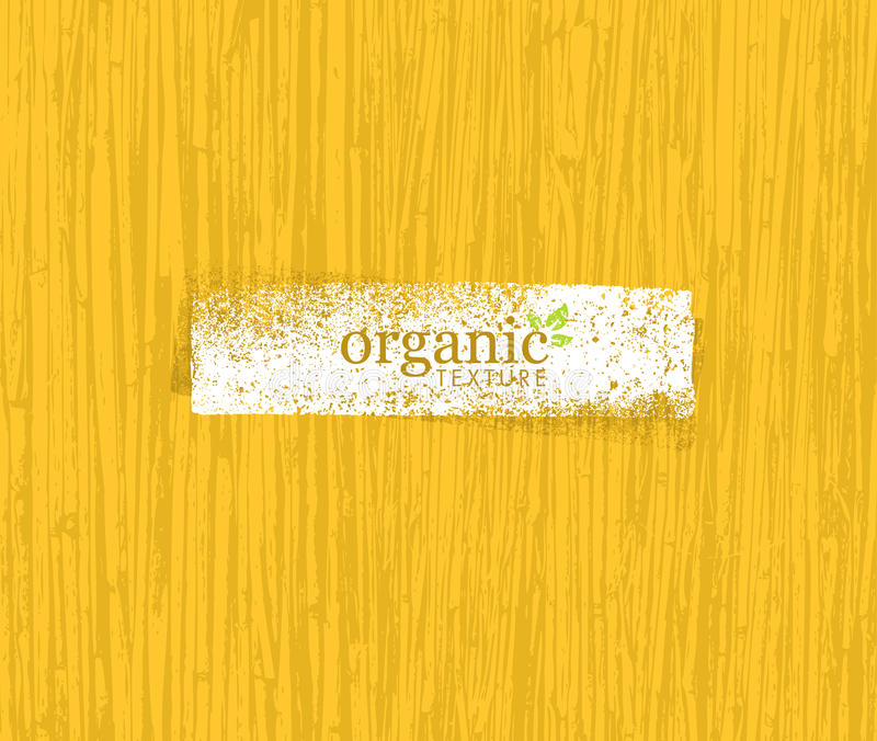 Organic Nature Friendly Eco Bamboo Background. Bio Vector Texture. royalty free illustration