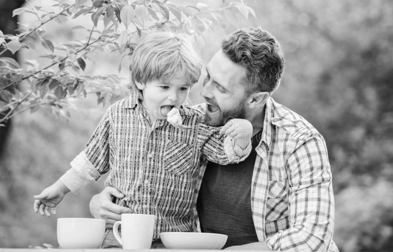 Organic nutrition. Healthy nutrition concept. Nutrition habits. Family enjoy homemade meal. Family time. Nutrition kids stock images