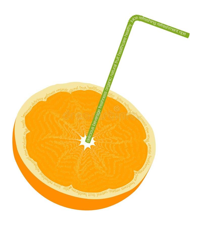 Download Organic orange stock vector. Image of healthy, beverage - 14823162