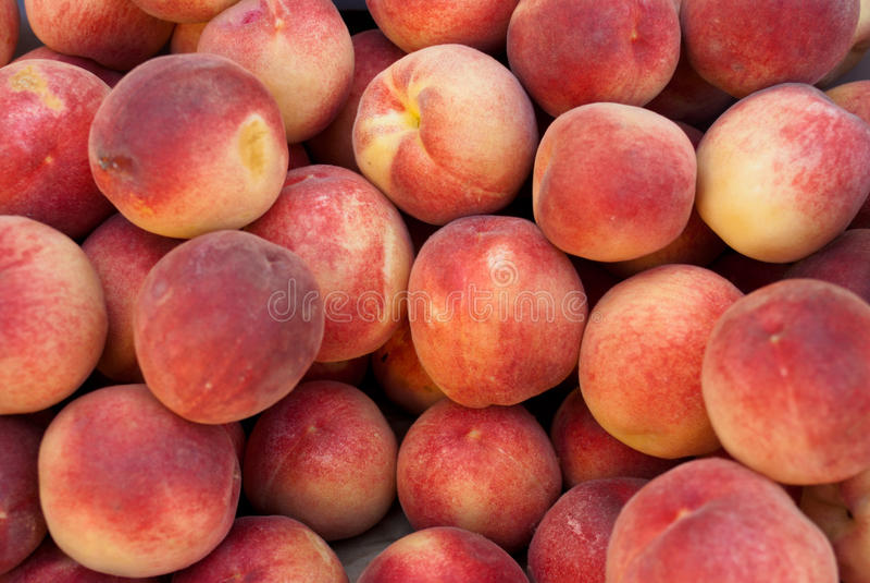 Organic Peaches Stock Photos