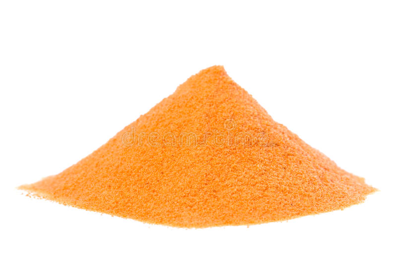 Organic Raw Goji Berry Powder stock photo