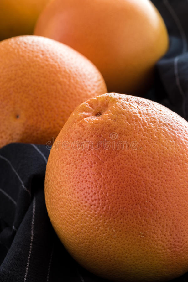 Organic red grapefruits royalty free stock photography