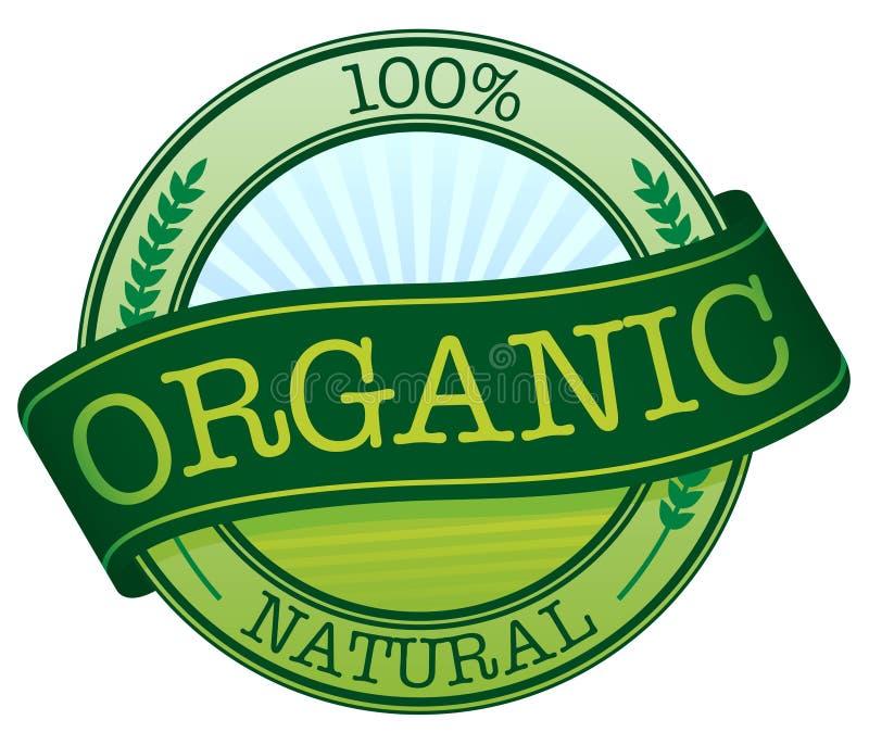 Organic Sticker. Illustration of an organic label / sticker vector illustration