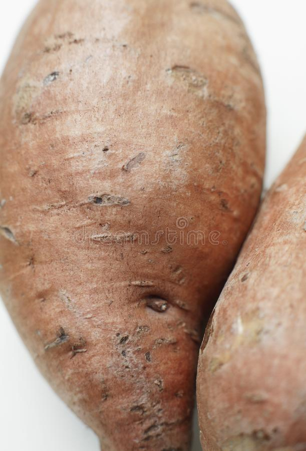 Organic Sweet potato stock photo