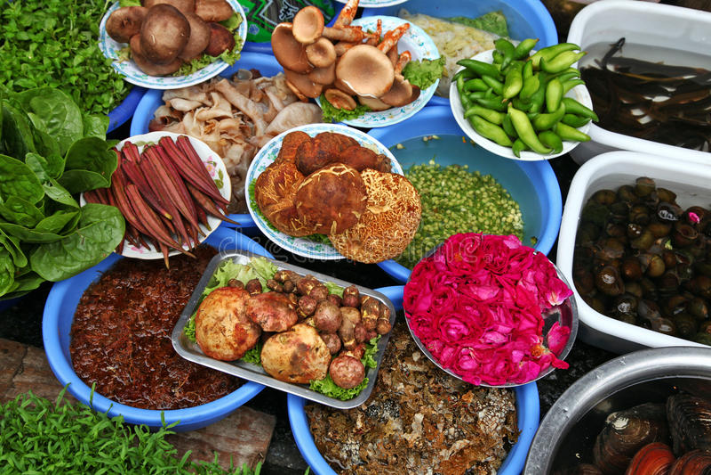 Download Organic vegetables stock photo. Image of mushroom, green - 19110692
