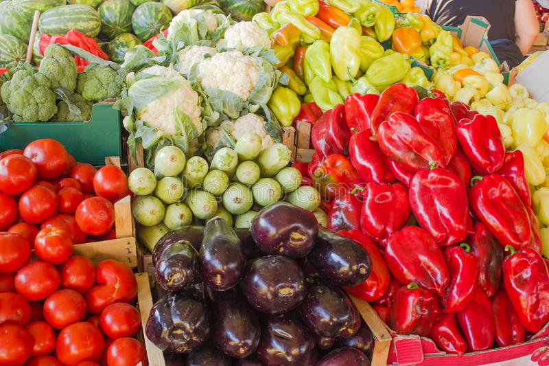 Download Organic vegetables stock photo. Image of ingredient, colorful - 26612768