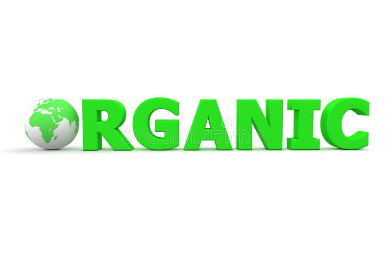 Organic World Stock Photo