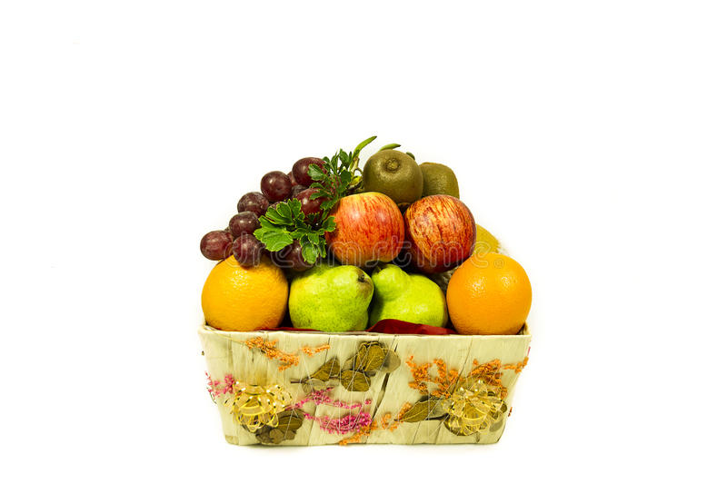 Organice fresh fruits royalty free stock images