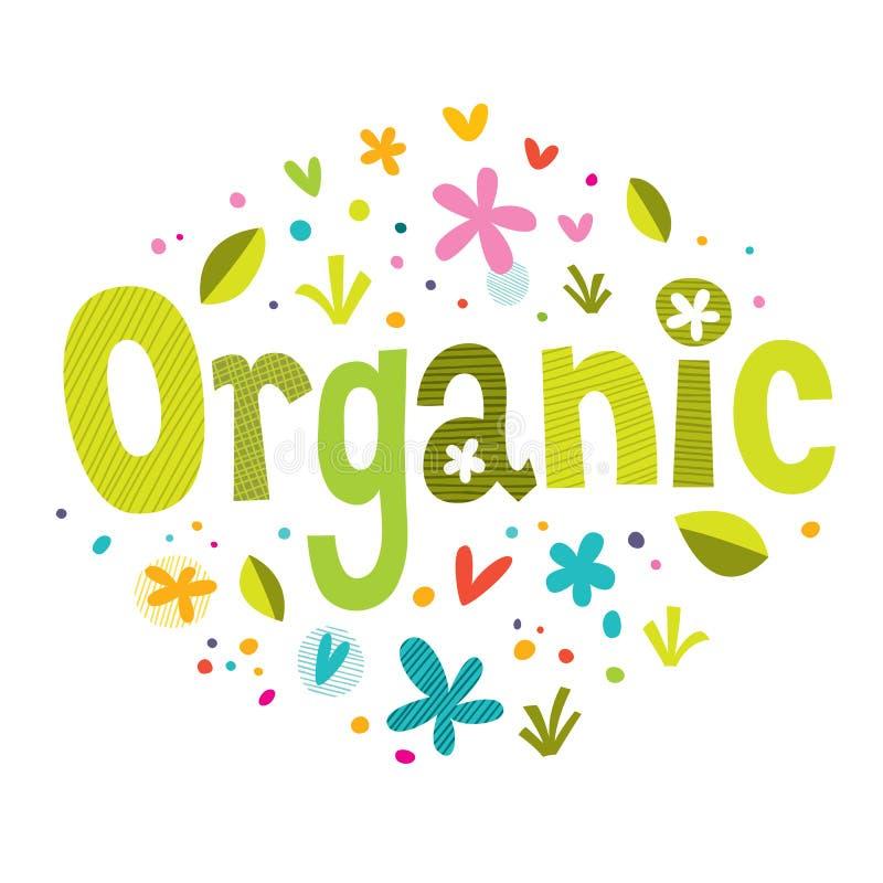 organicznie ilustracja wektor