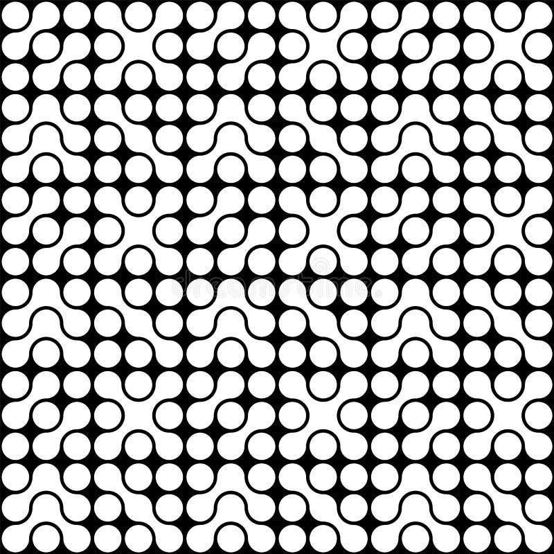 organicznie okręgu wzór ilustracja wektor