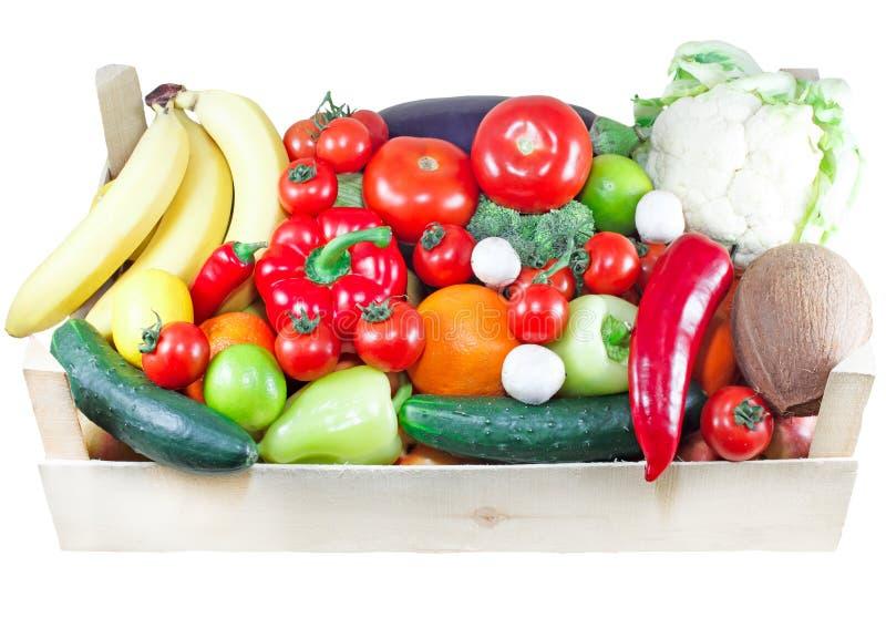 Organicznie owoc i warzywo fotografia stock