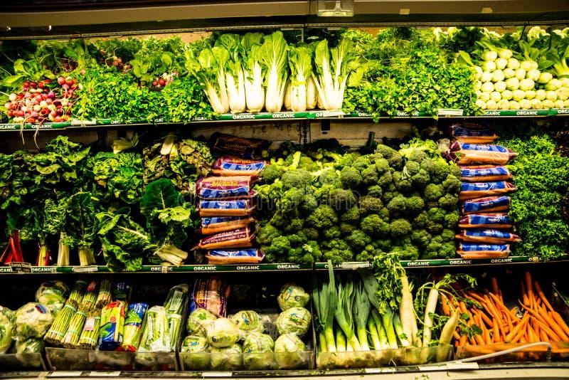 Organicznie produkty spożywcze obrazy stock