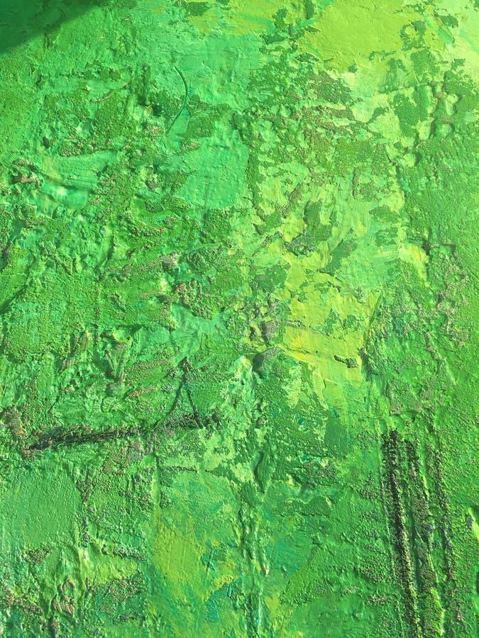 Organicznie sprawy lata tło z zieloną wiosna obrazu teksturą obrazy stock