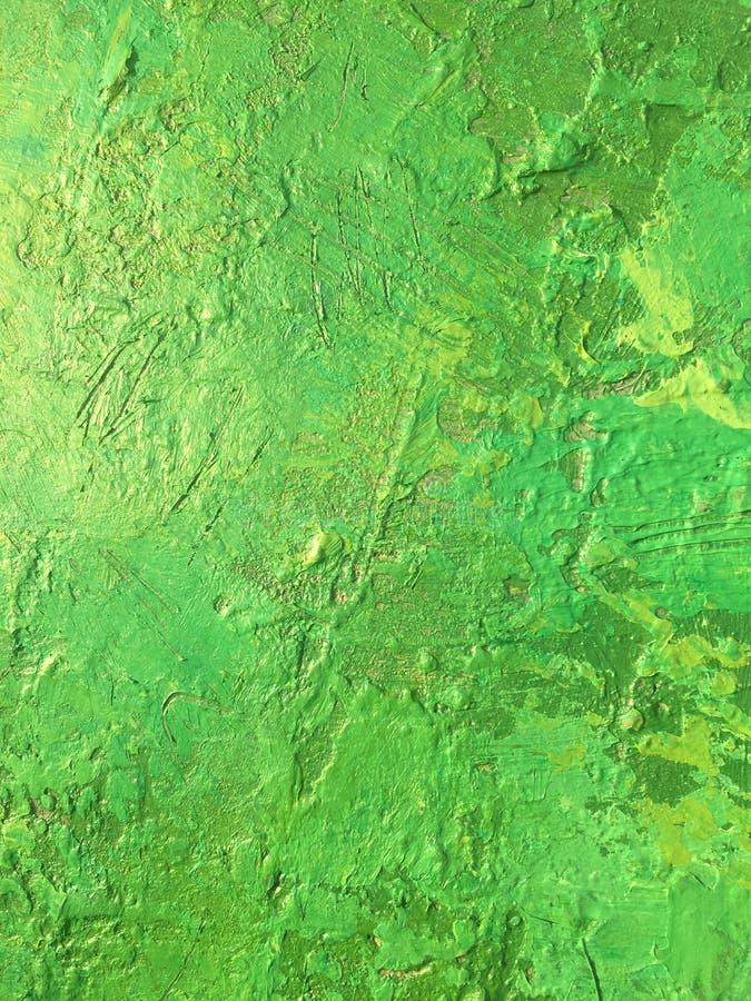 Organicznie sprawy lata tło z zieloną wiosna obrazu teksturą zdjęcie stock