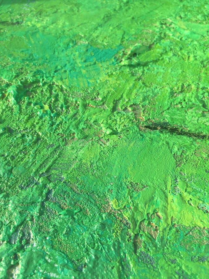 Organicznie sprawy lata tło z zieloną wiosna obrazu teksturą fotografia royalty free