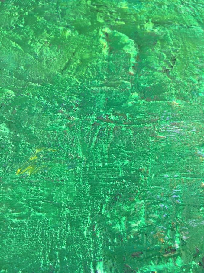 Organicznie sprawy lata tło z zieloną wiosna obrazu teksturą fotografia stock