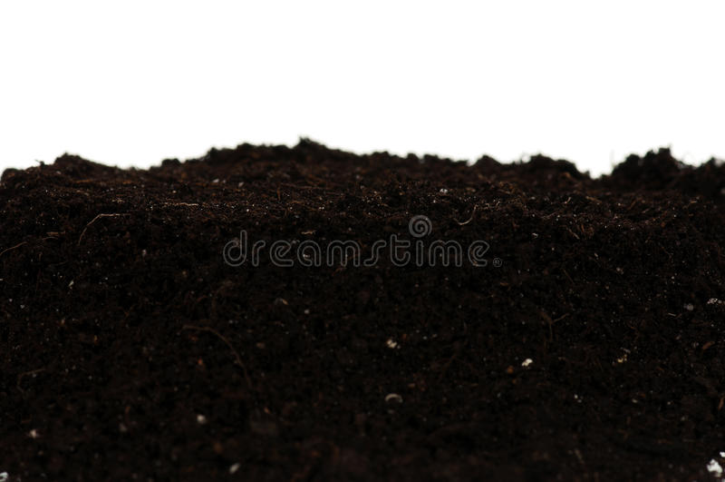 Organicznie ziemia fotografia stock
