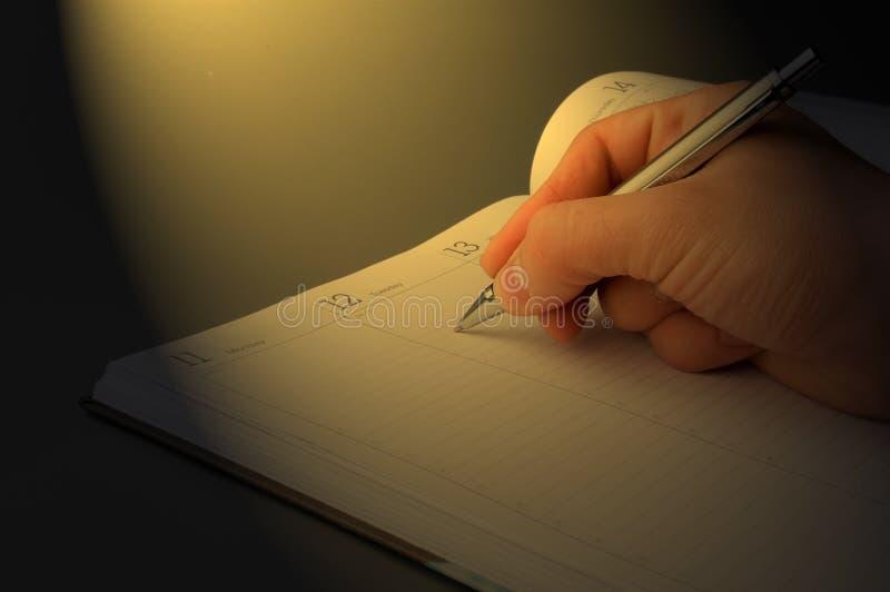 Download Organisateur image stock. Image du lettre, main, datte - 2144403