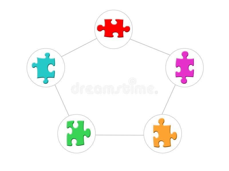 Organisatie vector illustratie