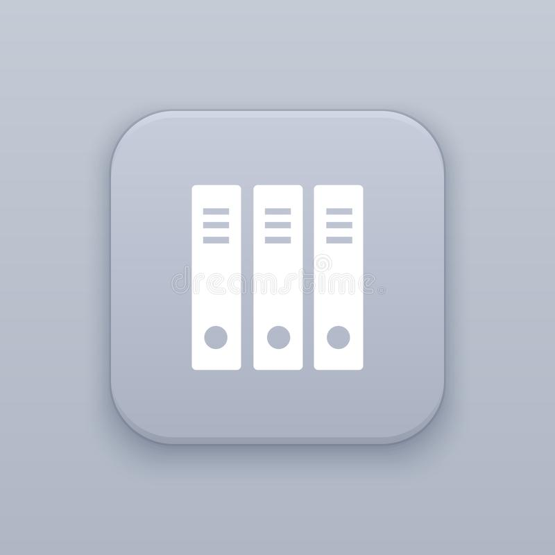 Organisatie, het archiveren knoop, beste vector vector illustratie