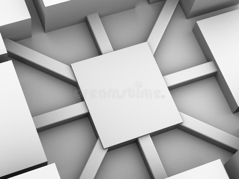 Organisatie met diversiteit. vector illustratie