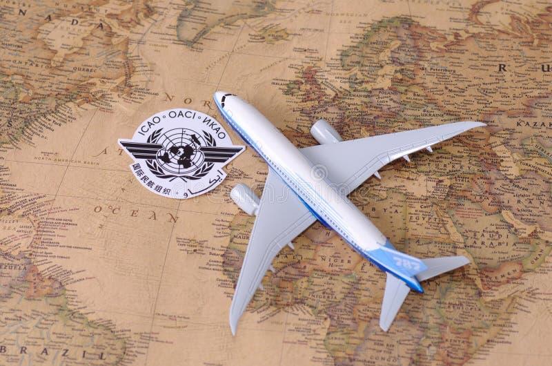 Organisation de l'aviation civile internationale image stock