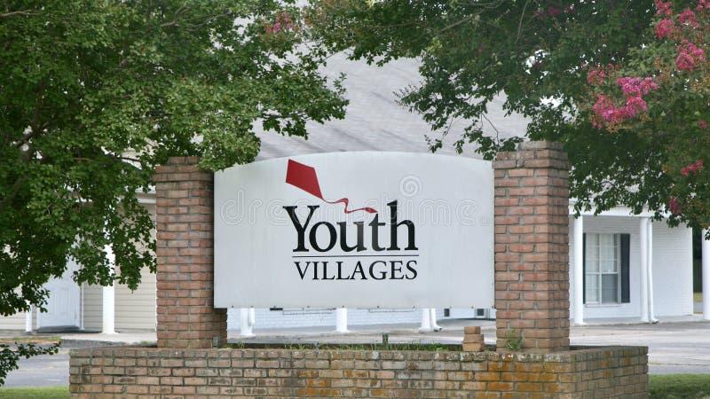 Organisation de villages de la jeunesse photos libres de droits
