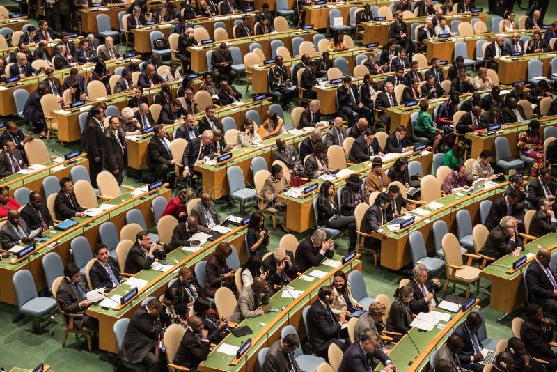Organisation der Vereinten Nationen stockfoto