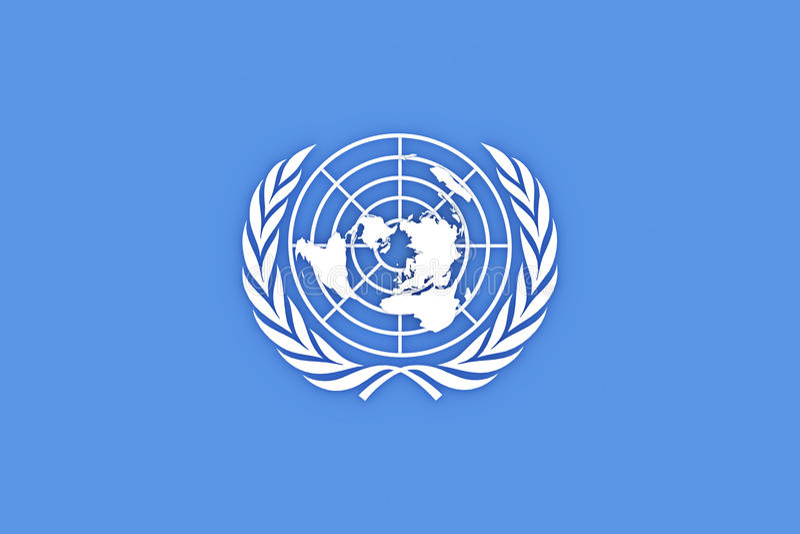 Organisation des Nations Unies illustration stock