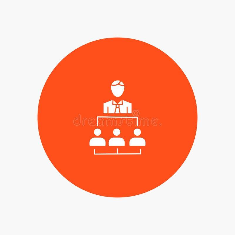 Organisation, Geschäft, Mensch, Führung, Management stock abbildung