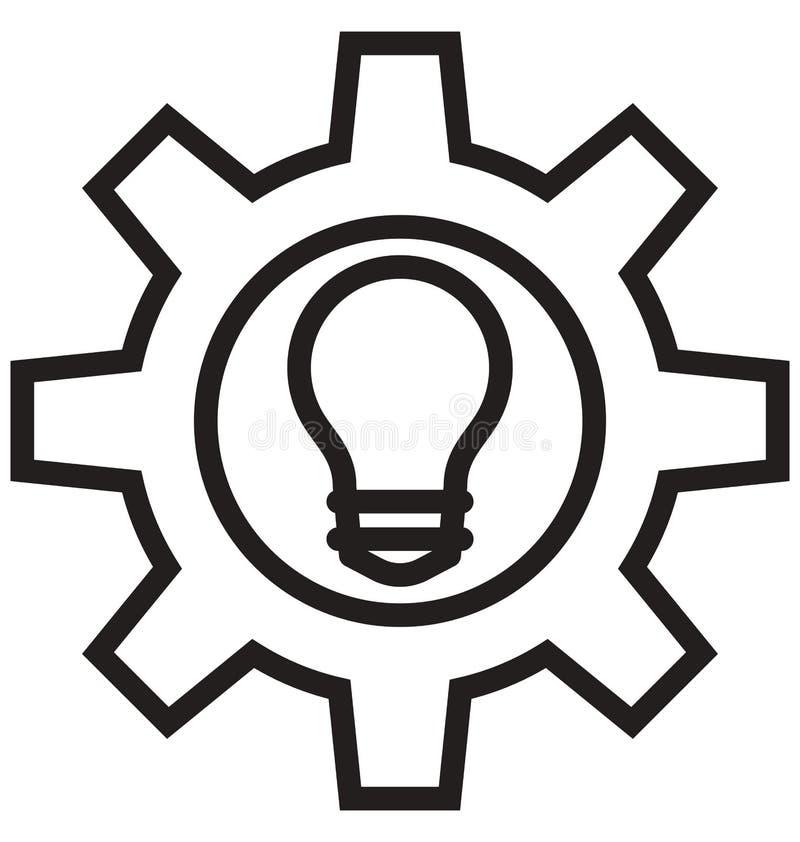 Organisationsstruktur, Arbeitsflusslinie lokalisierte Vektorikone kann leicht geändert werden und redigieren stock abbildung