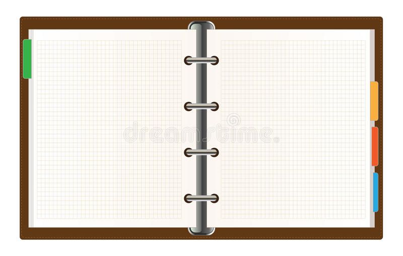 Organisator stock illustratie
