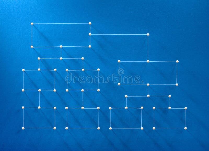 Organisatorisch grafiekconcept stock foto