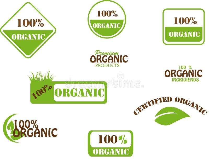 100% organisch stockbild