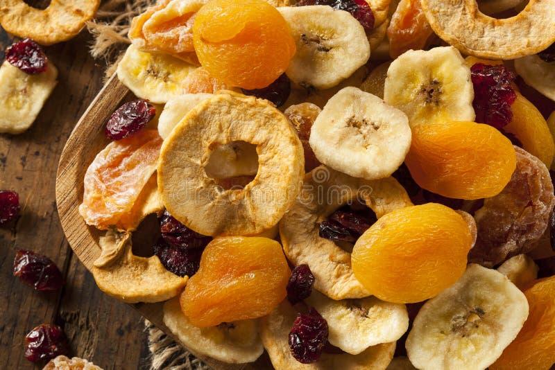 Organisch Gezond Geassorteerd Gedroogd fruit royalty-vrije stock afbeeldingen