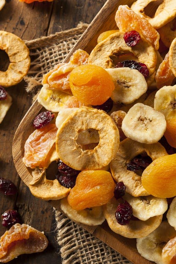 Organisch Gezond Geassorteerd Gedroogd fruit stock afbeelding