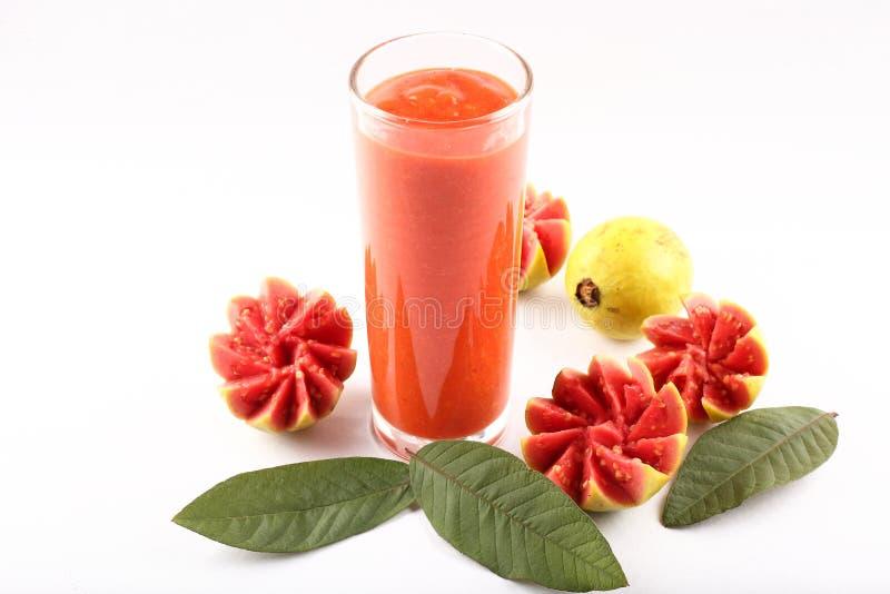 Organisch guavesap smoothie stock afbeelding