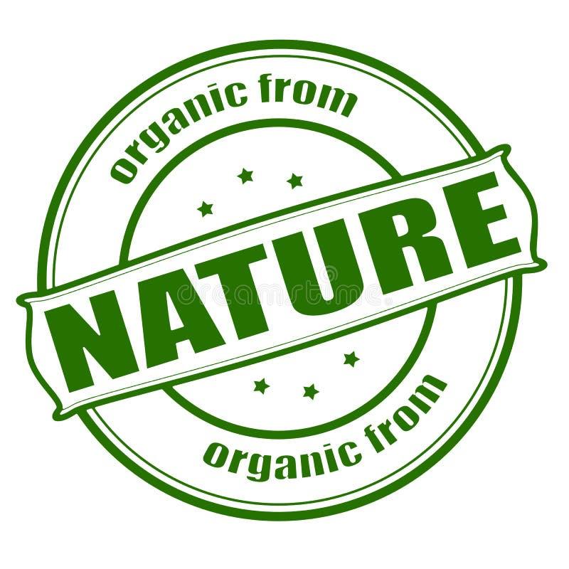 Organisch von der Natur vektor abbildung