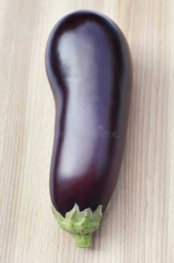 Organische Aubergine royalty-vrije stock foto