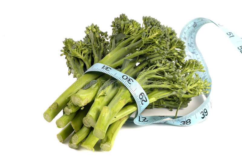 Organische Broccoli Royalty-vrije Stock Foto's