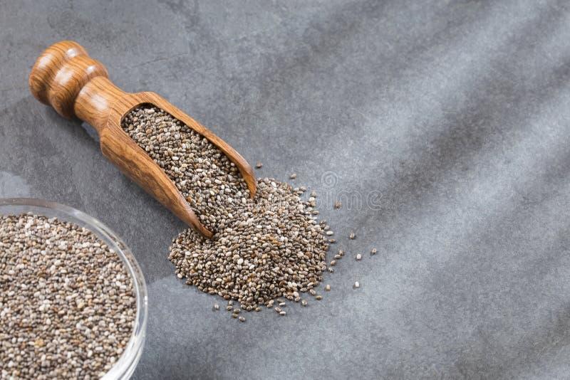Download Organische Chia In Zaden - Salvia-hispanica Stock Foto - Afbeelding bestaande uit zaden, achtergrond: 114226754