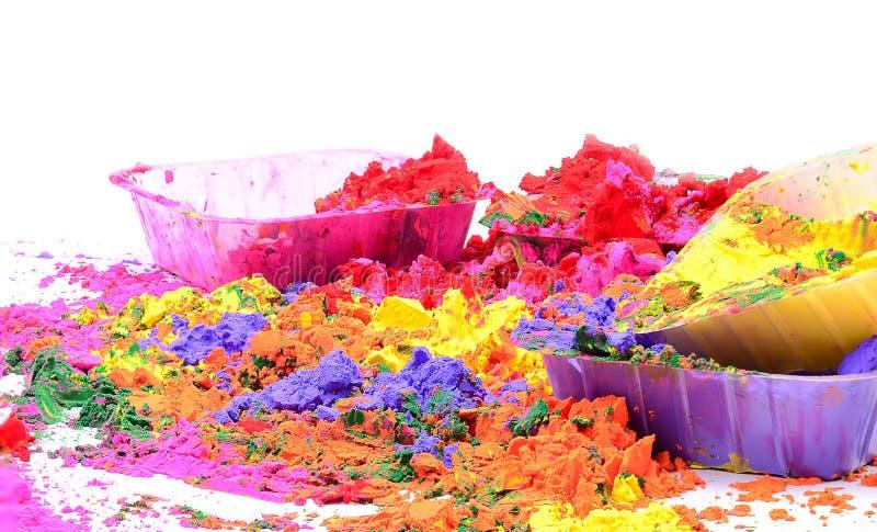 Organische Farben stockfotos