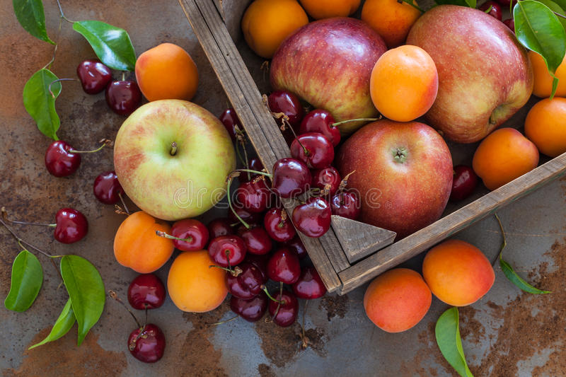 Organische Frucht stockfoto
