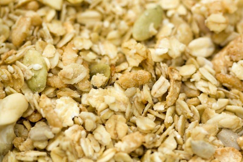 Organische Granola stock afbeeldingen