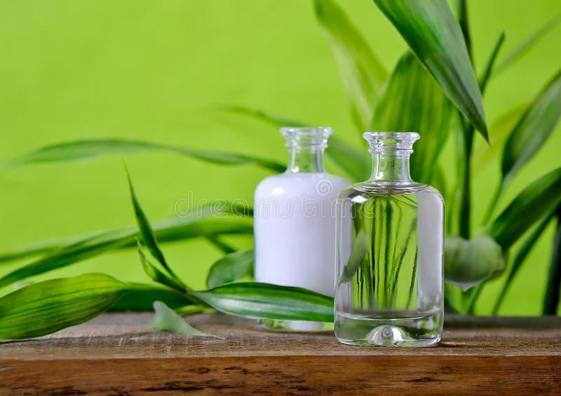 Organische Kosmetik stockbilder
