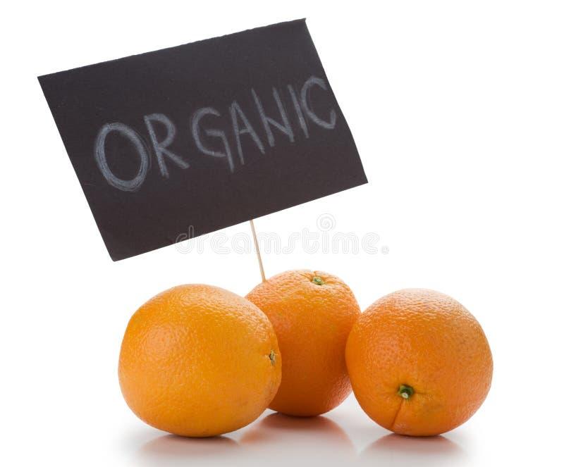 Organische Orangen lizenzfreies stockfoto
