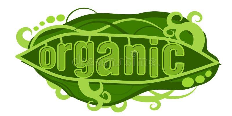 Organische Peul royalty-vrije illustratie