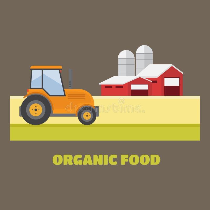 Organische producten Landbouw en de Landbouw Landbouwindustrie Landelijk La royalty-vrije stock foto