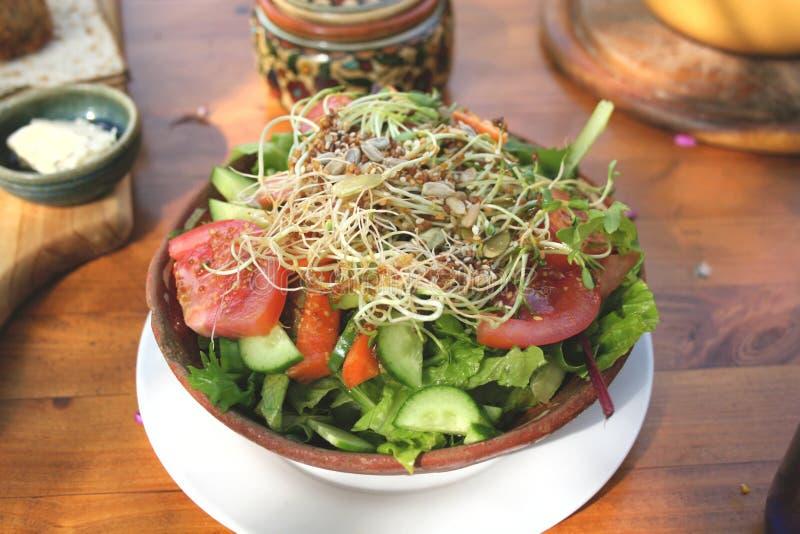 Organische Salade #2 royalty-vrije stock afbeeldingen