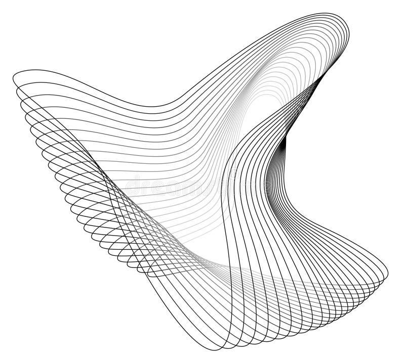 Organische Structuur stock illustratie